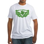 HAPPY ST PATS DAY GRAPHIC Fitted T-Shirt
