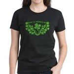 HAPPY ST PATS DAY GRAPHIC Women's Dark T-Shirt