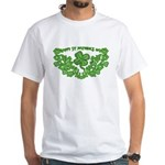 HAPPY ST PATS DAY GRAPHIC White T-Shirt
