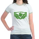 HAPPY ST PATS DAY GRAPHIC Jr. Ringer T-Shirt
