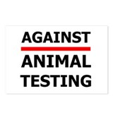 Against Testing by Leah Postcards (Package of 8)