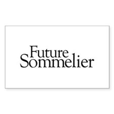 Future Sommelier Rectangle Decal