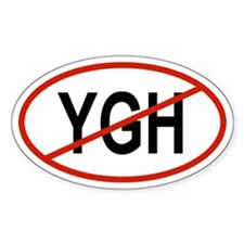 YGH Oval Decal