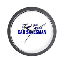 Trust Me I'm a Car Salesman Wall Clock