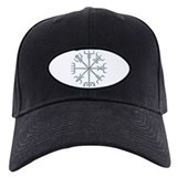 Silver Viking Compass Baseball Hat