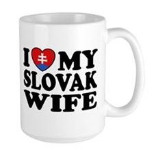 I Love My Slovak Wife Mug