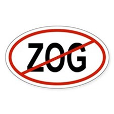 ZOG Oval Decal