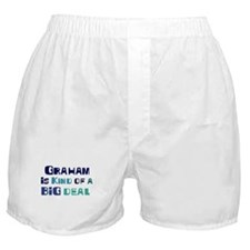Graham is a big deal Boxer Shorts