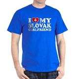 I Love My Slovak Girlfriend T-Shirt