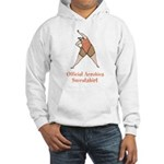 Official Aerobics Hooded Sweatshirt