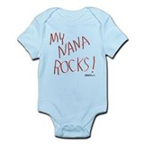 My Nana Rocks ! Infant Bodysuit