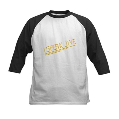 I Speak Jive Kids Baseball Jersey