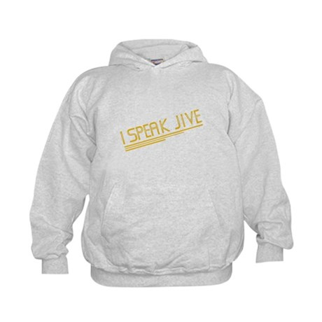 I Speak Jive Kids Hoodie