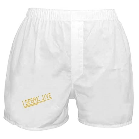 I Speak Jive Boxer Shorts