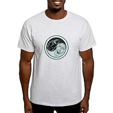 Masks Yin Yang T-Shirt
