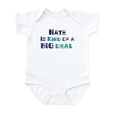 Nate is a big deal Onesie