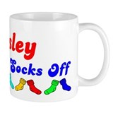 Ansley Rocks Socks (B) Small Mug