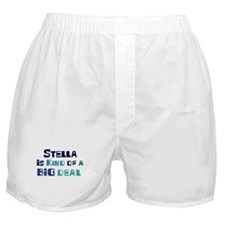 Stella is a big deal Boxer Shorts