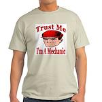 Trust Me I'm A Mechanic Ash Grey T-Shirt