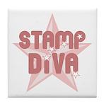 Stamp Diva Tile Coaster