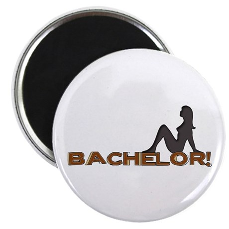 "Bachelor Female Silhouette 2.25"" Magnet (100 pack)"