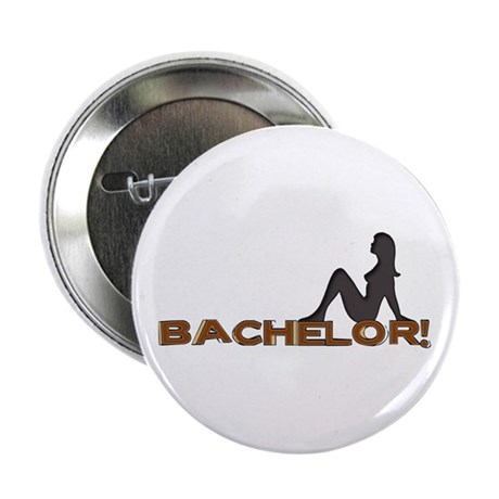 "Bachelor Female Silhouette 2.25"" Button (100 pack)"