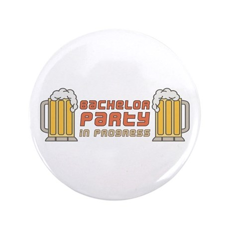 "Bachelor Party 3.5"" Button (100 pack)"