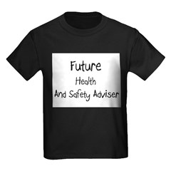 Future Health And Safety Adviser Kids Dark T-Shirt