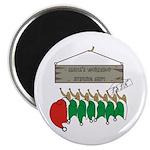 Santa's Workshop Magnet