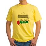 Santa's Workshop Yellow T-Shirt