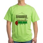 Santa's Workshop Green T-Shirt
