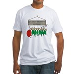 Santa's Workshop Fitted T-Shirt
