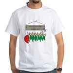 Santa's Workshop White T-Shirt
