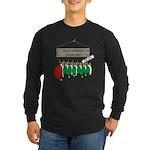 Santa's Workshop Long Sleeve Dark T-Shirt