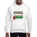 Santa's Workshop Hooded Sweatshirt
