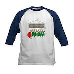 Santa's Workshop Kids Baseball Jersey