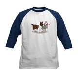 Red Brindle Cardigan Corgi Tee