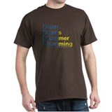 Drum-Drumming : T-Shirt