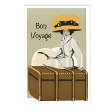Bon Voyage Postcards (Package of 8)
