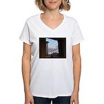 Sunset, Tunbridge Wells Women's V-Neck T-Shirt