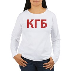 Vintage KGB Women's Long Sleeve T-Shirt