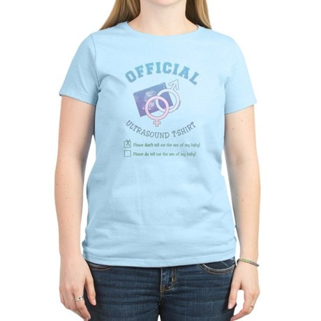 Official Ultrasound Don't Tell Women's Light T-Shi