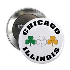 "Chicago Irish 2.25"" Button"