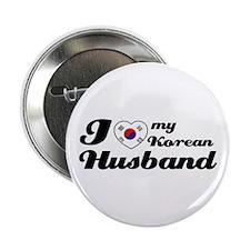 "I love my Korean Husband 2.25"" Button (100 pack)"