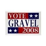 Vote Gravel 2008 Rectangle Magnet