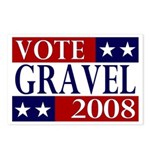 Vote Gravel Postcards (Package of 8)