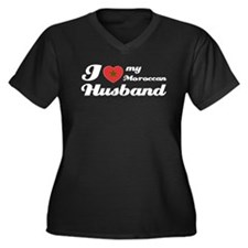 I love my Moroccan Husband Women's Plus Size V-Nec