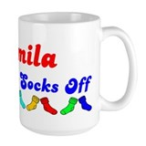 Camila Rocks Socks (B) Ceramic Mugs