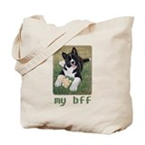 My BFF Akita Tote Bag