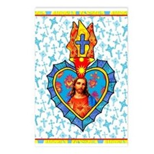 Sacred Heart Milagro Postcards (Package of 8)